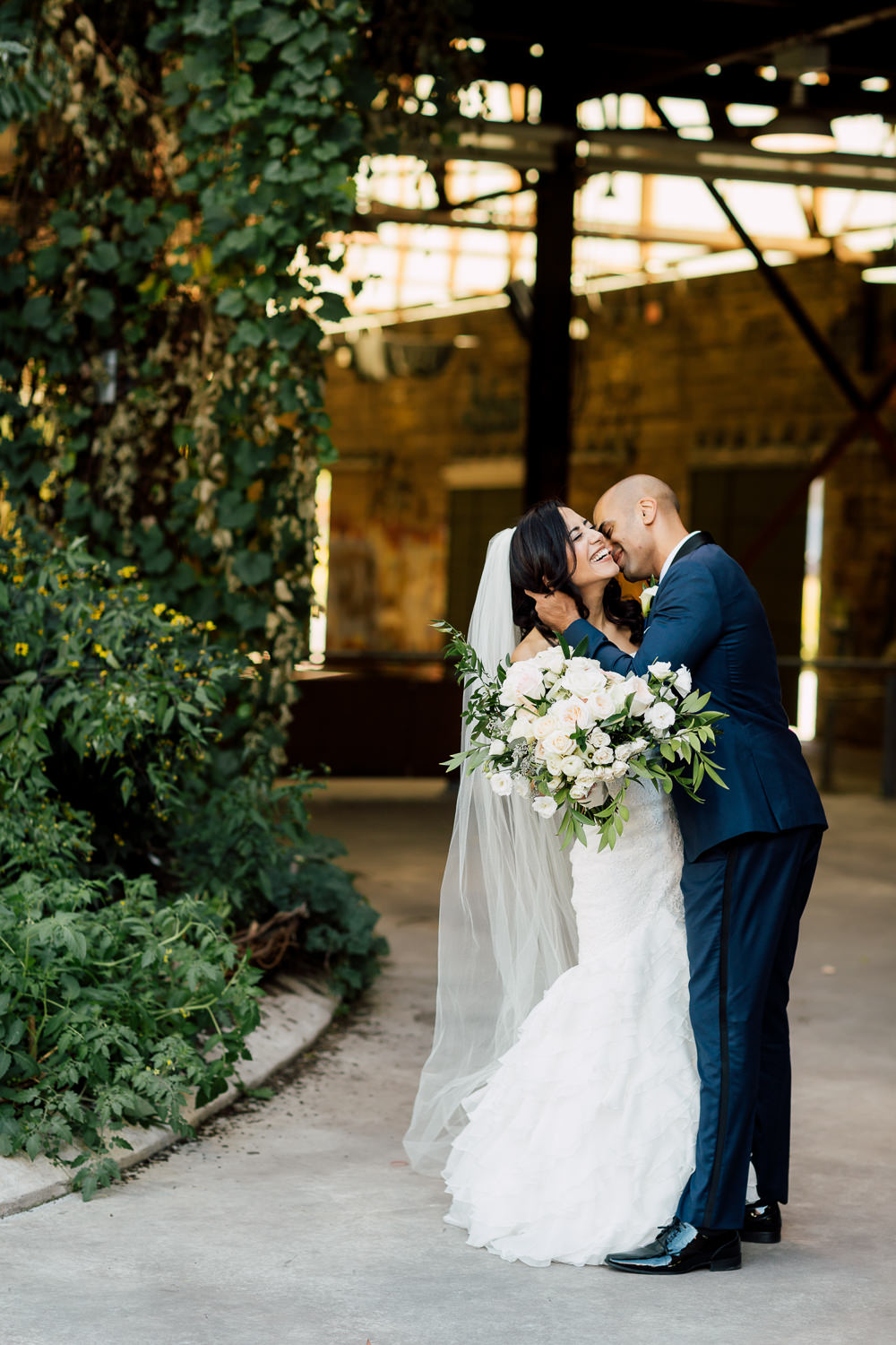Wedding at Evergreen Brick Works