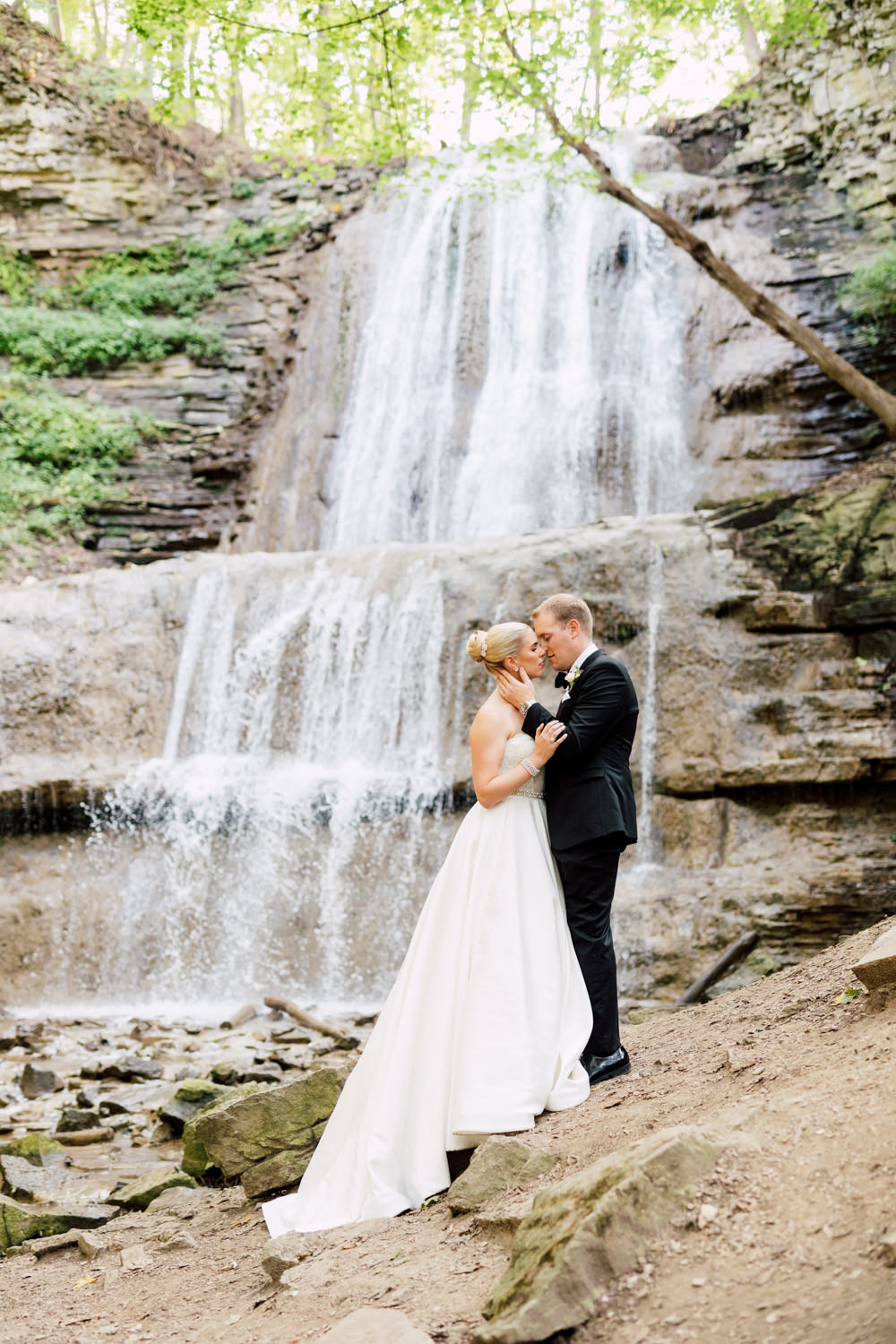 Wedding shoot by the Water Falls