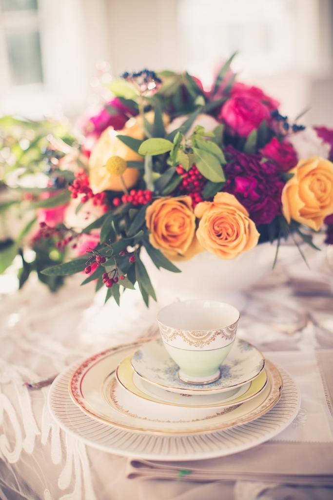 bridal bouquet decor