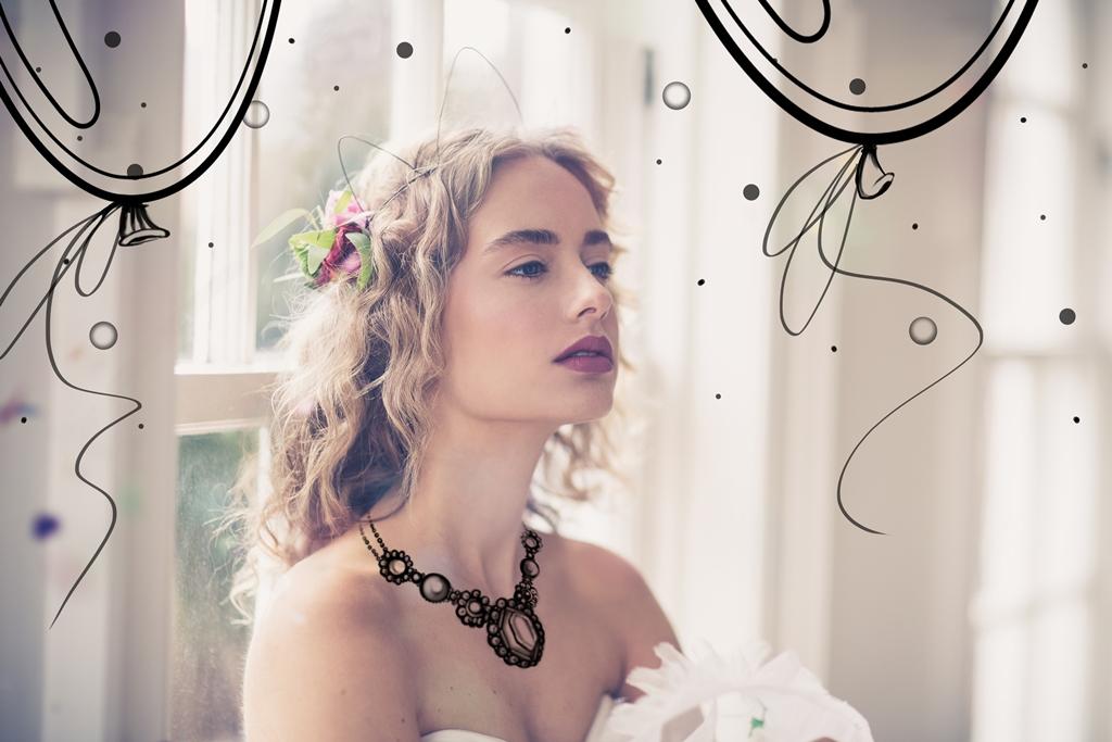 bride chilling