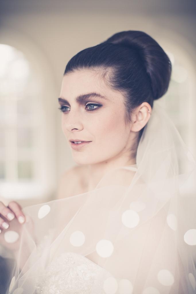 cool bridal makup