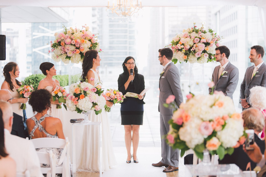 ... colourful ceremony in tent & Wedding at Malaparte Toronto | Toronto Wedding Photographer ...