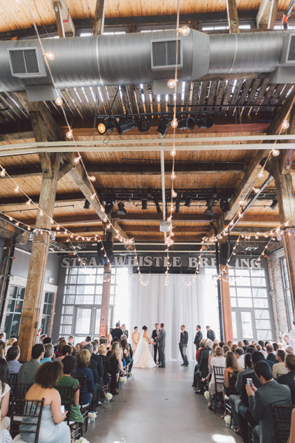 Steam whistle wedding pictures