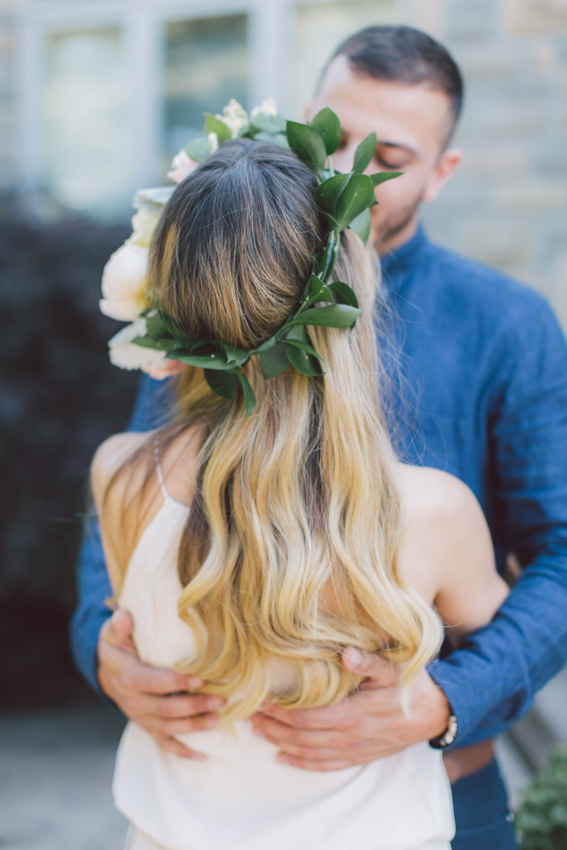 floral crown shoot