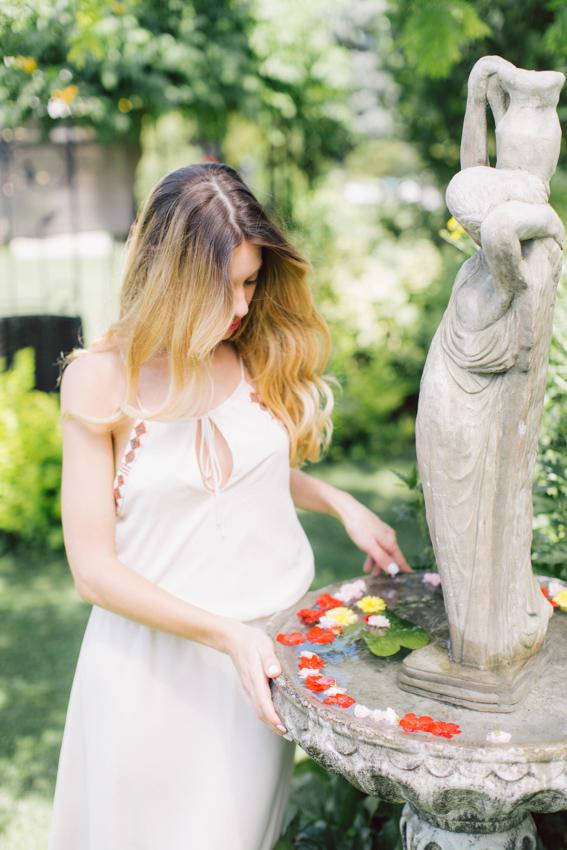 boho floral shoot