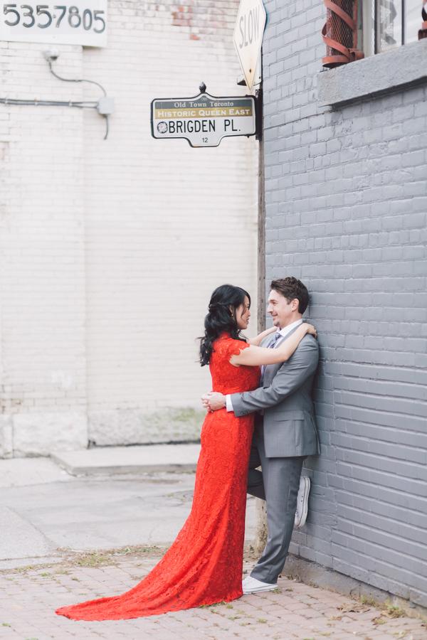 One Half Chinese Wedding Dress Toronto