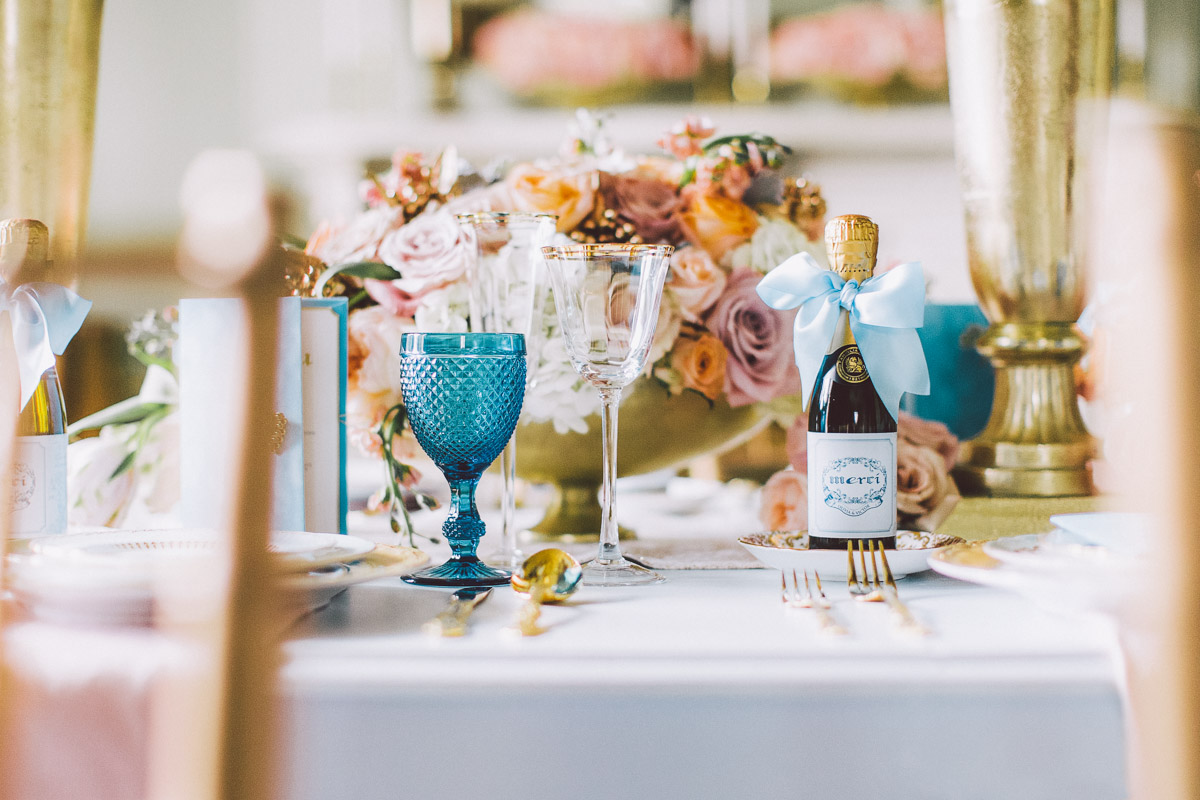 wedding dinner table decor