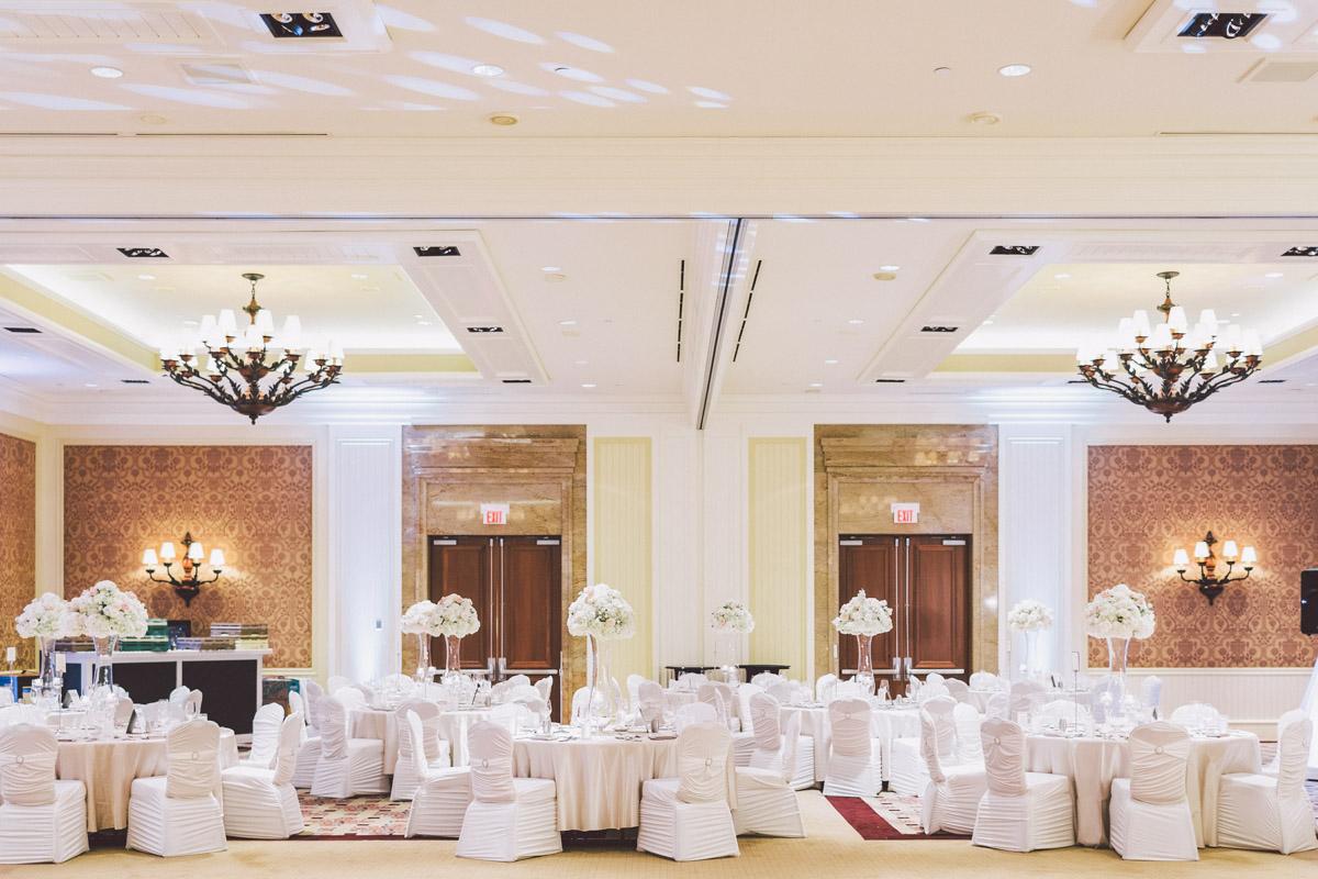 jw marriott wedding reception