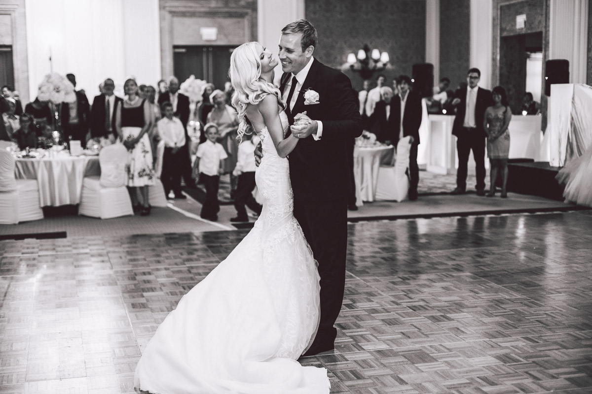 wedding reception at jw marriott