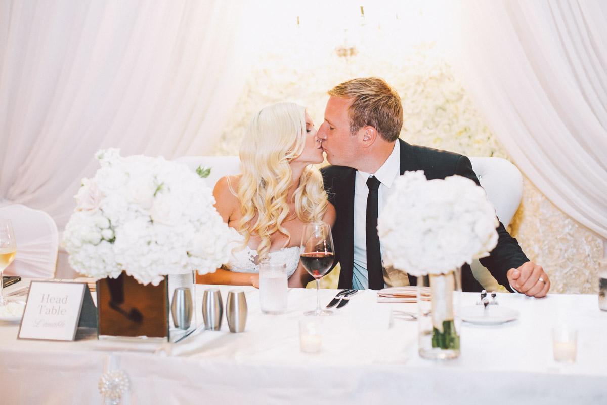 jw marriott wedding head table
