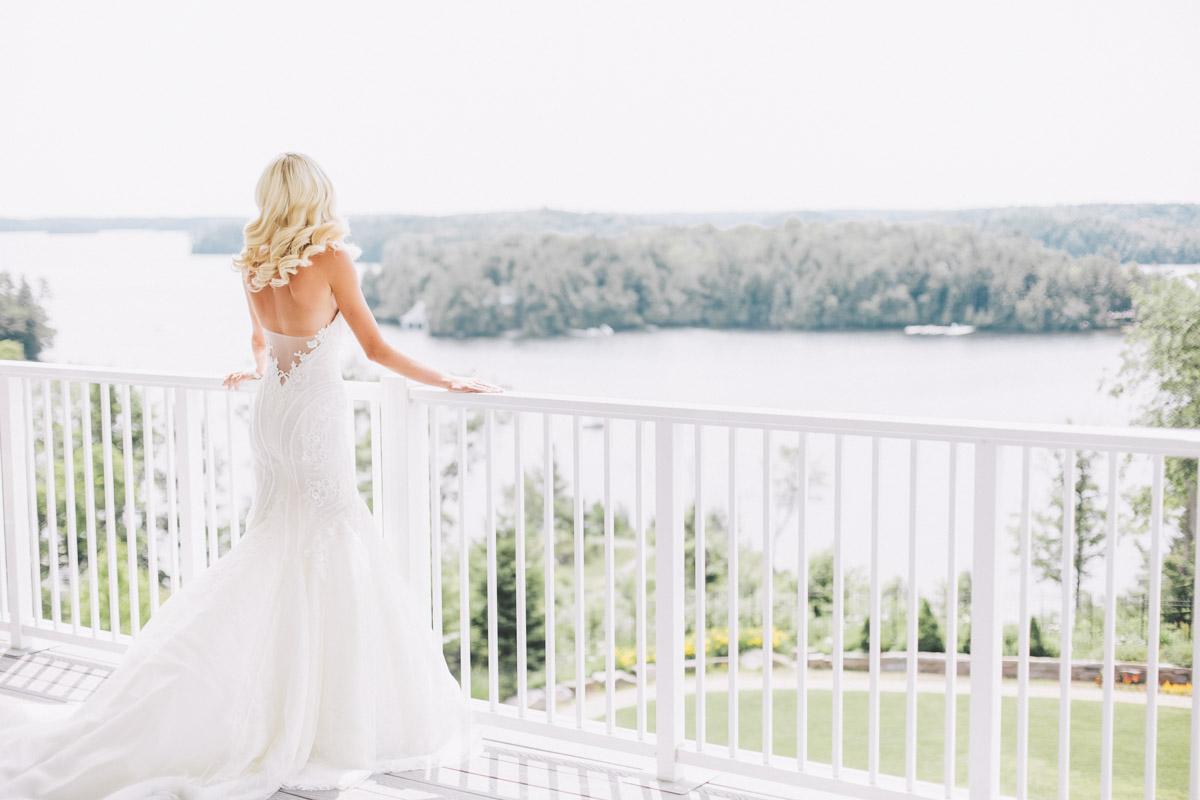 Lake Rousseau wedding
