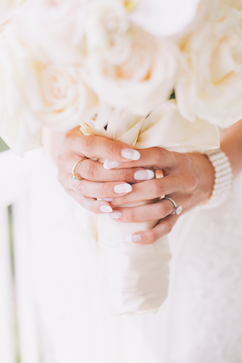 wedding rings and the flowers