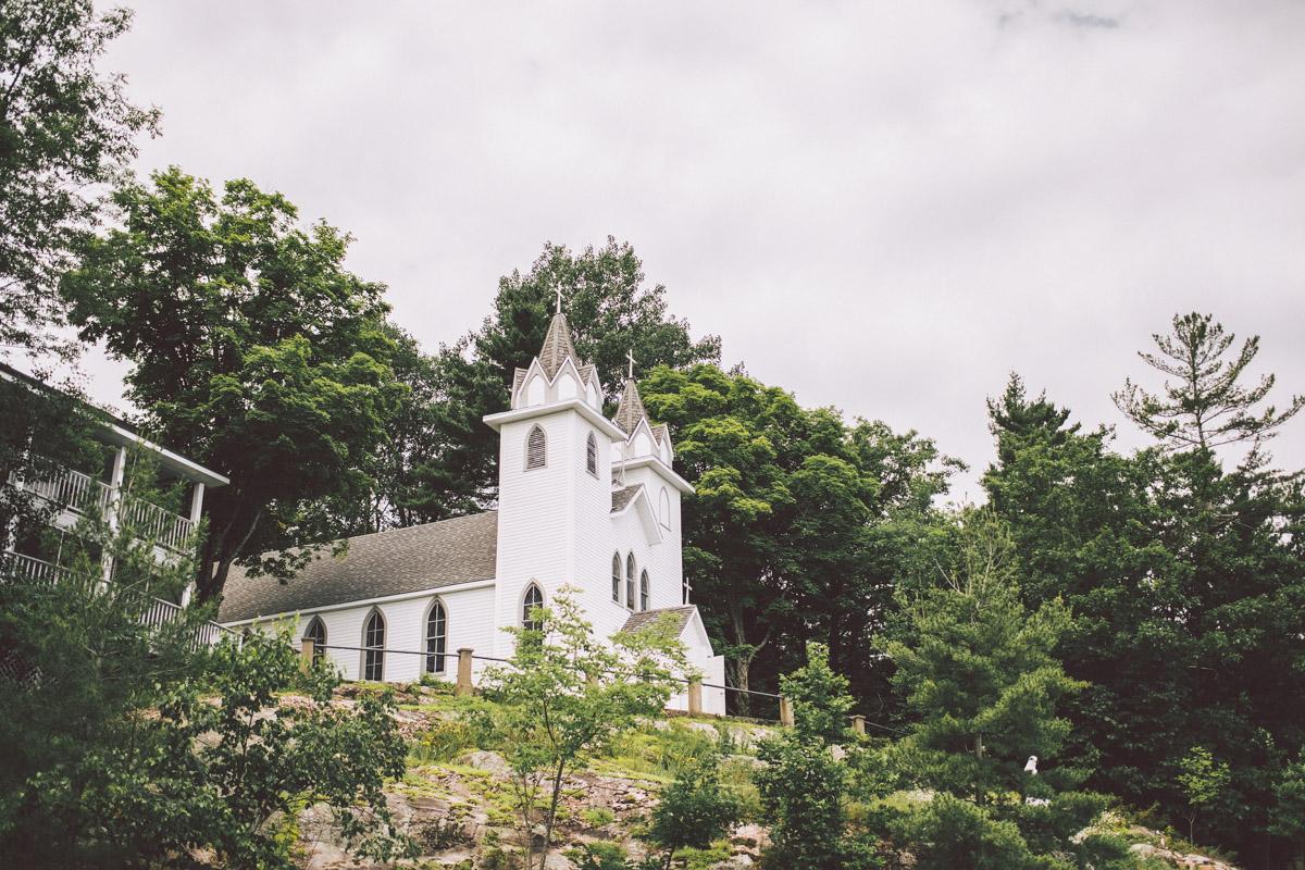 muskoka wedding chapel