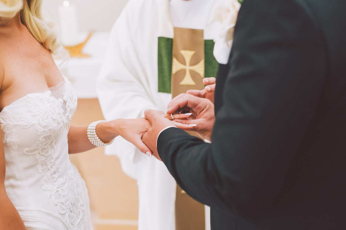 ring exchange at the chapel
