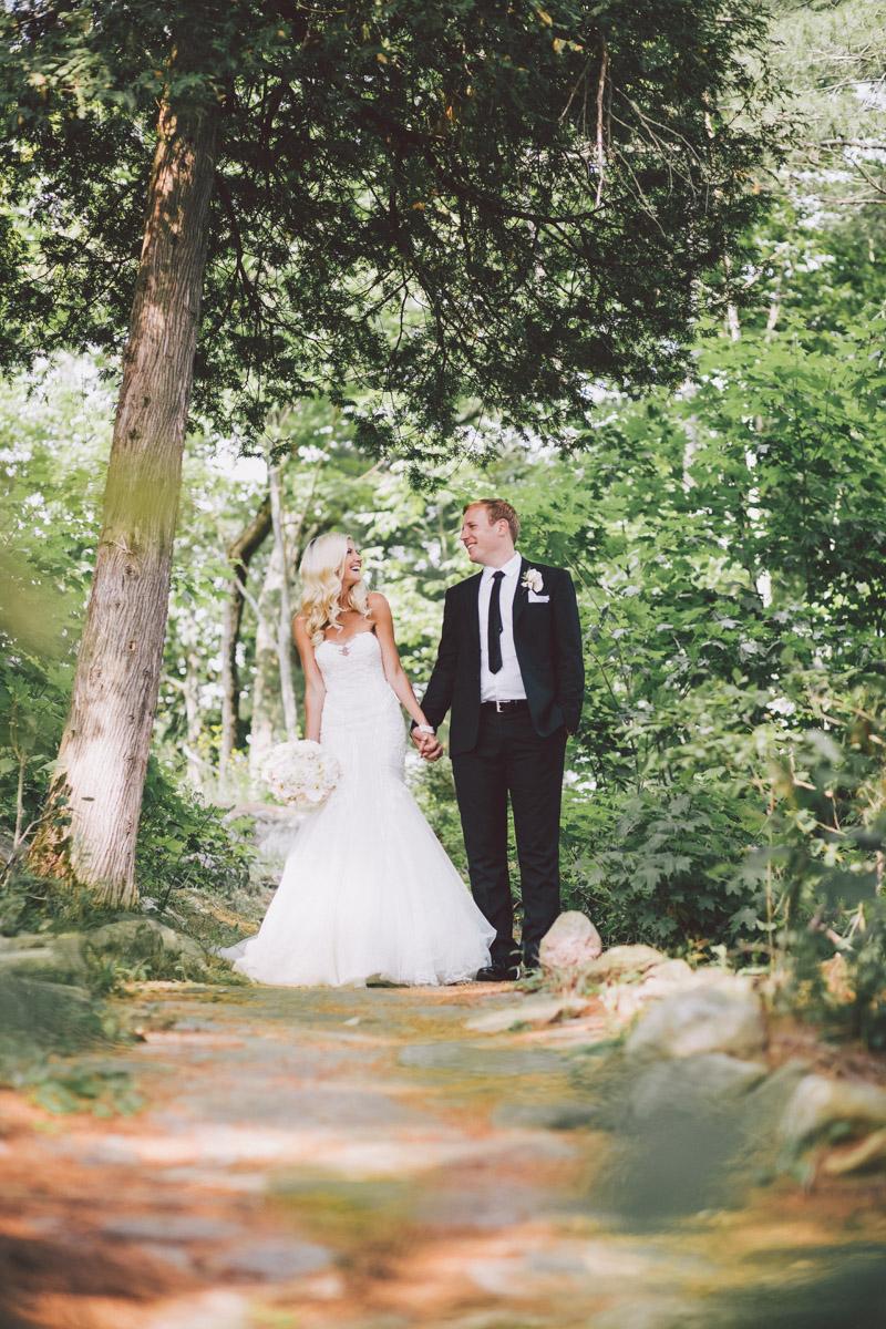Muskoka forest wedding