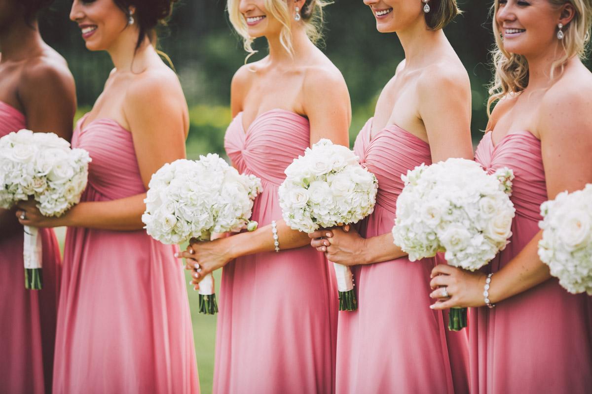 bridal flowers closeup