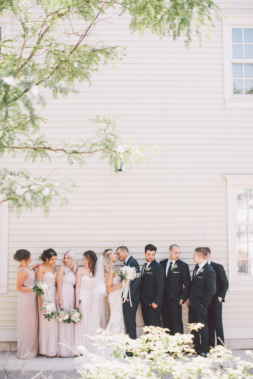 bridal party in Kleinburg