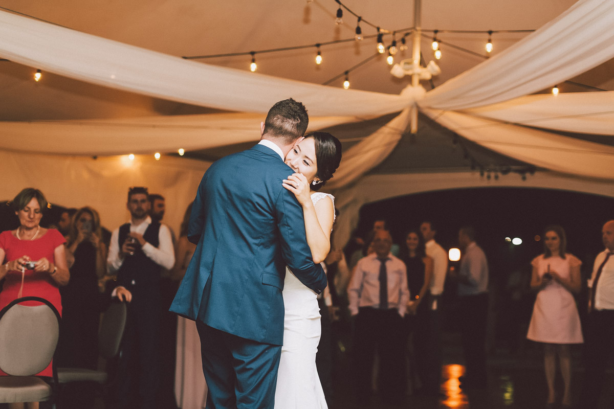 first dance in the tent