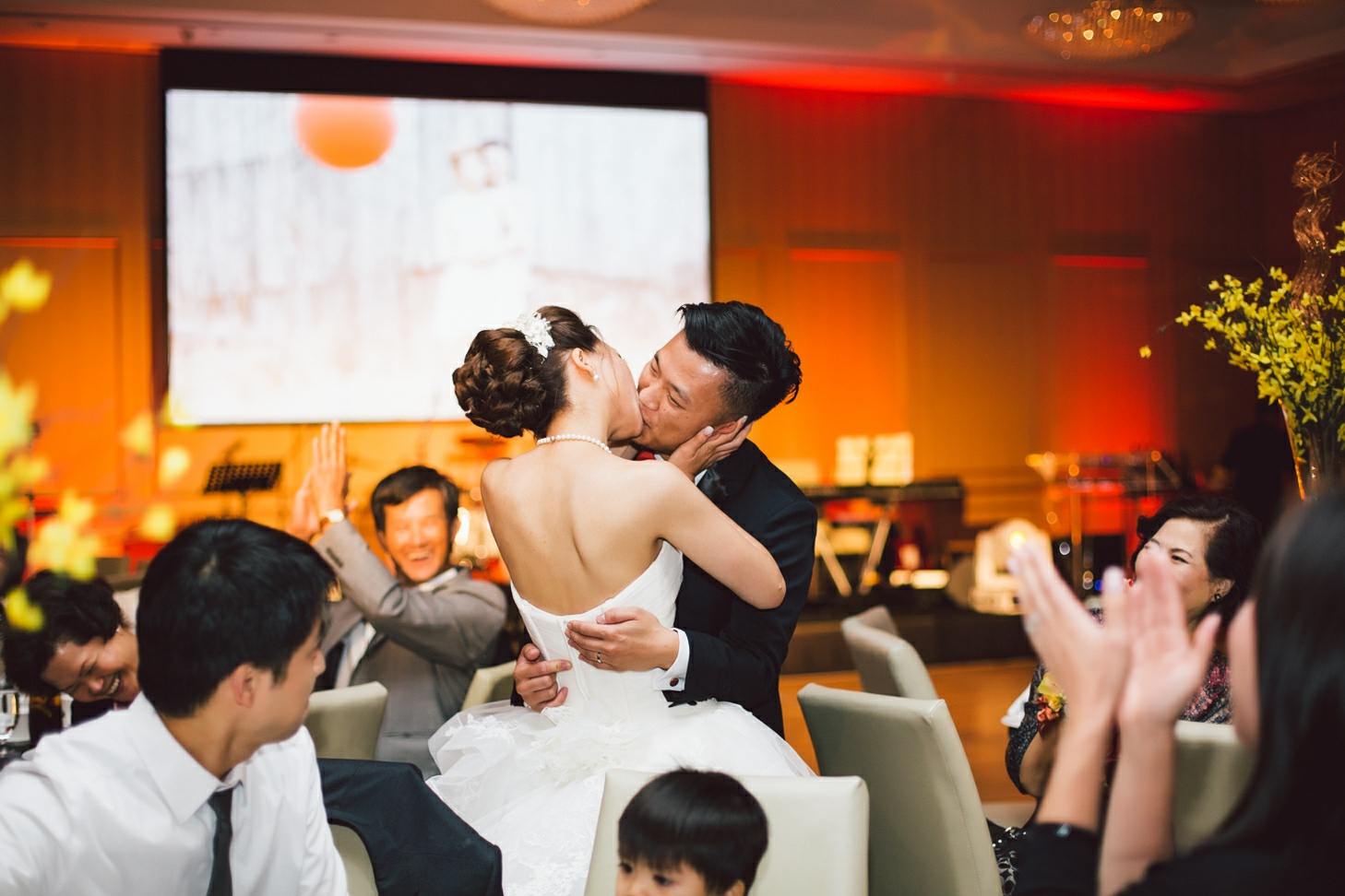 shangri la wedding reception
