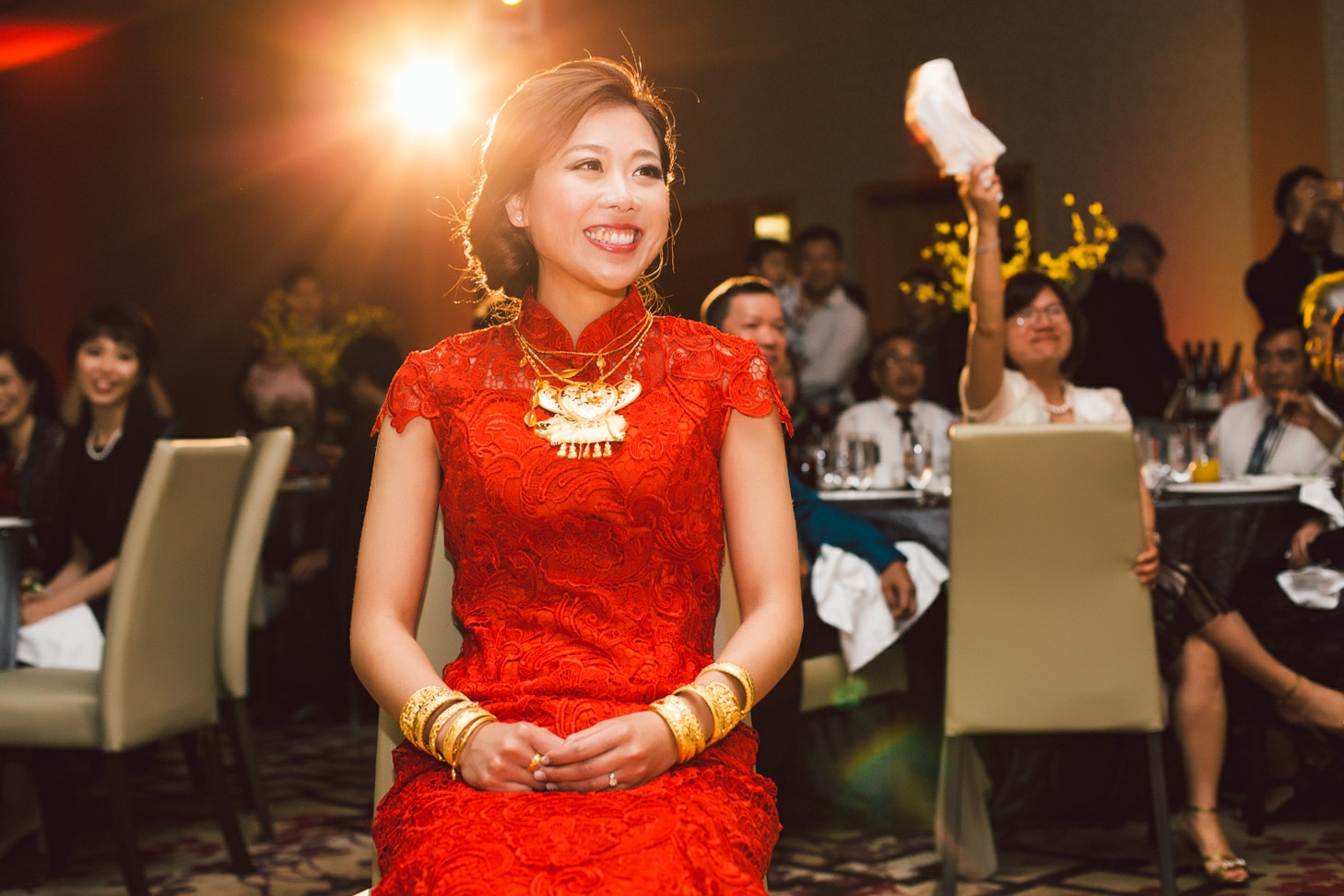 chinese wedding dress red