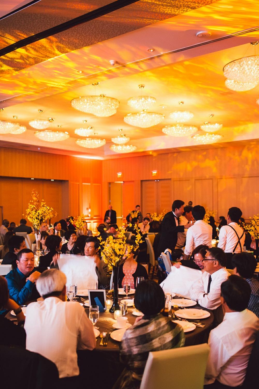 shangri la toronto wedding party