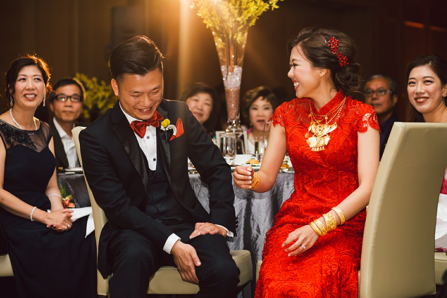 traditional chinese wedding red dress