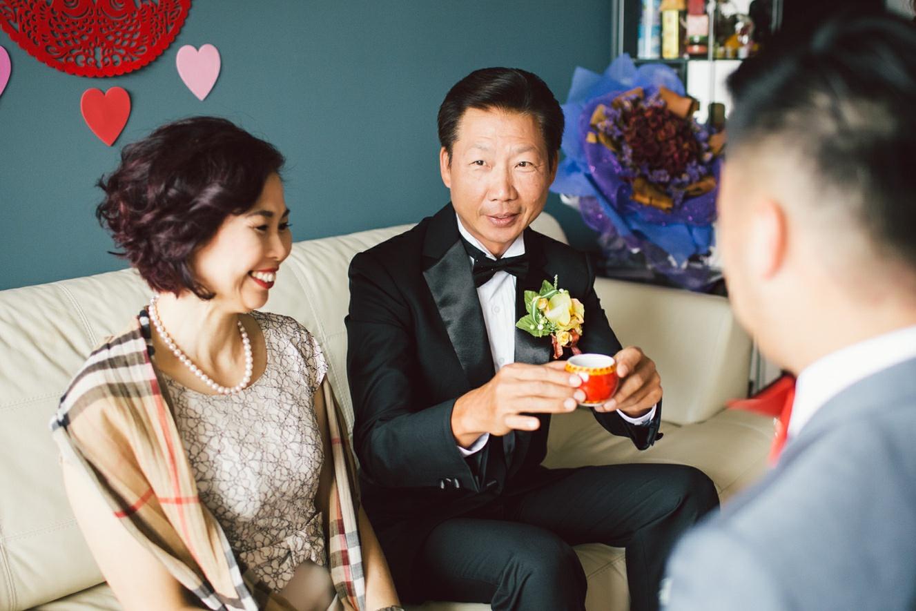 modern chinese wedding ceremony