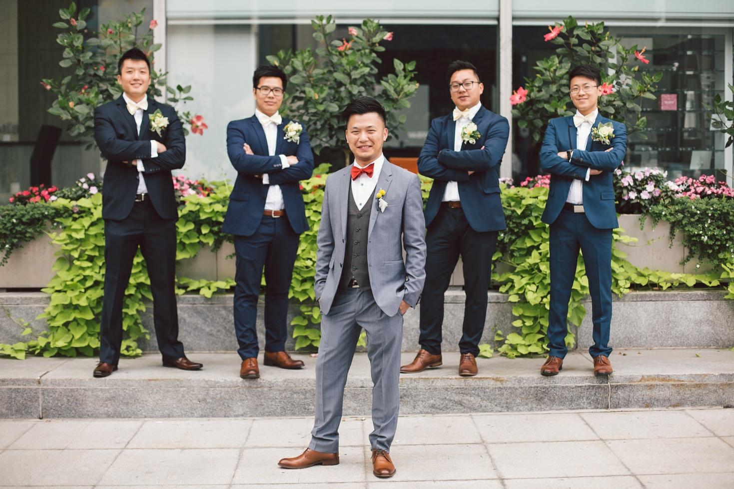 modern chinese wedding photography