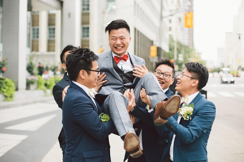 wedding photos at shangri-la toronto