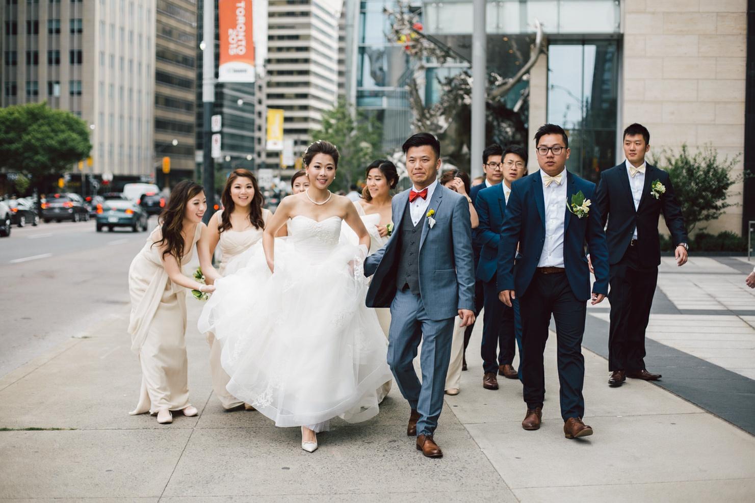 wedding downtown toronto