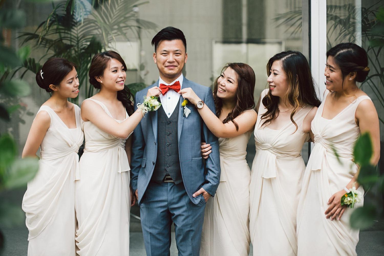 wedding on the streets of toronto