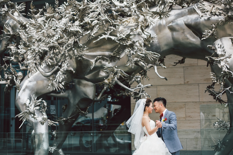 shangri-la toronto wedding backdrop