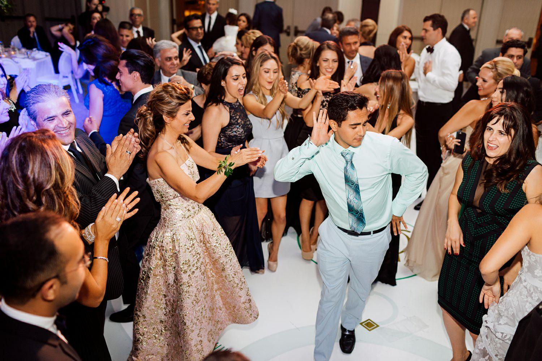 four seasons wedding reception