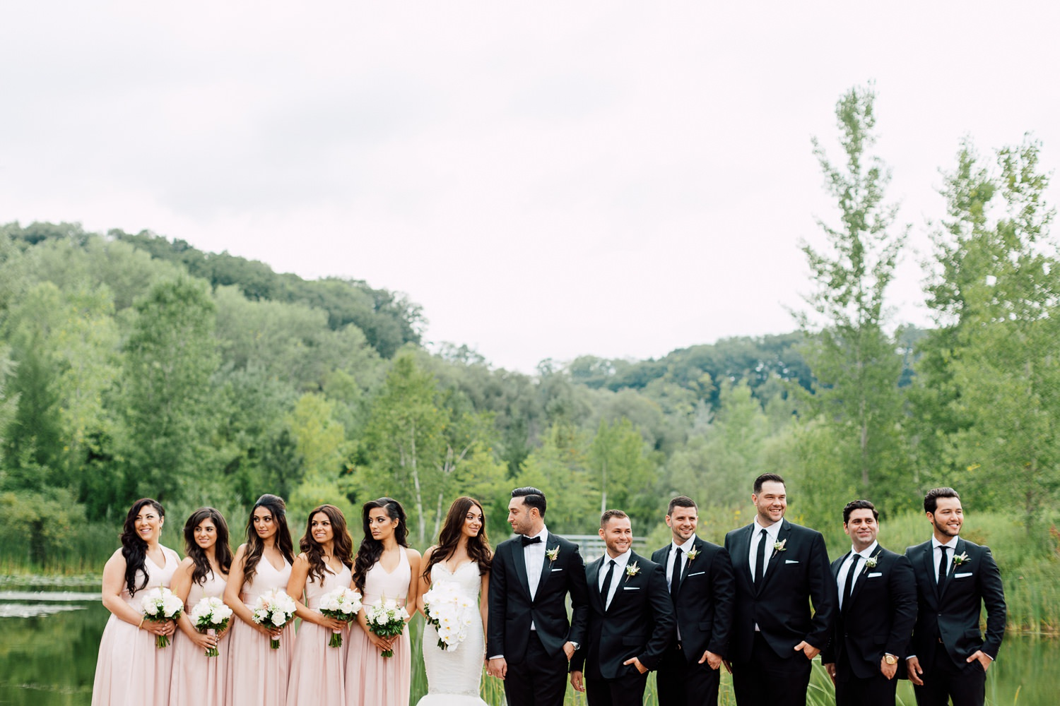 bridal party photography toronto