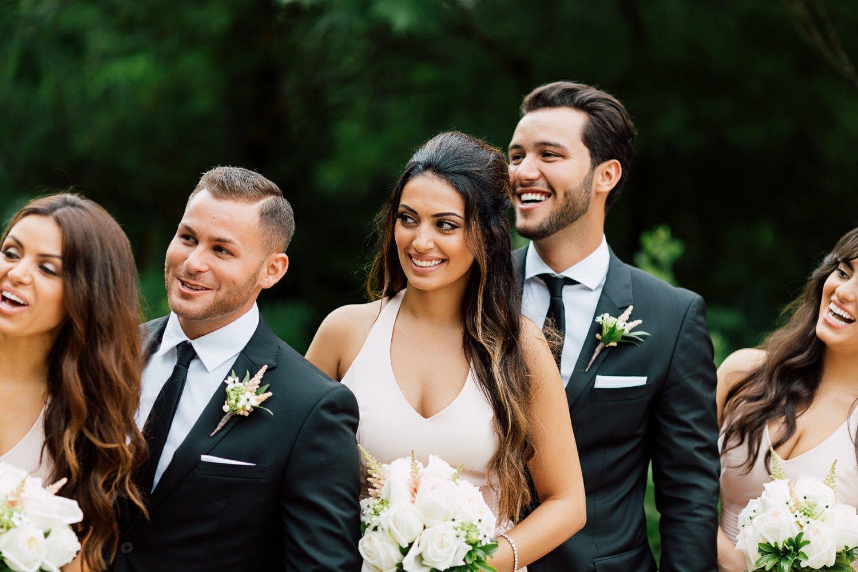 bridal party photography toronto