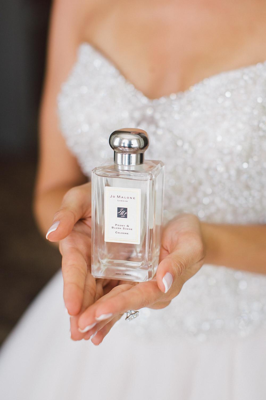 brides perfume bottle