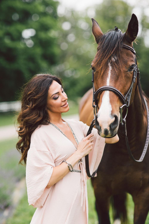 horse farm photoshoot