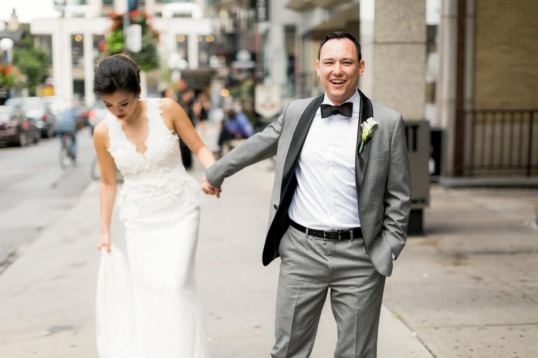 wedding walk at yourkville