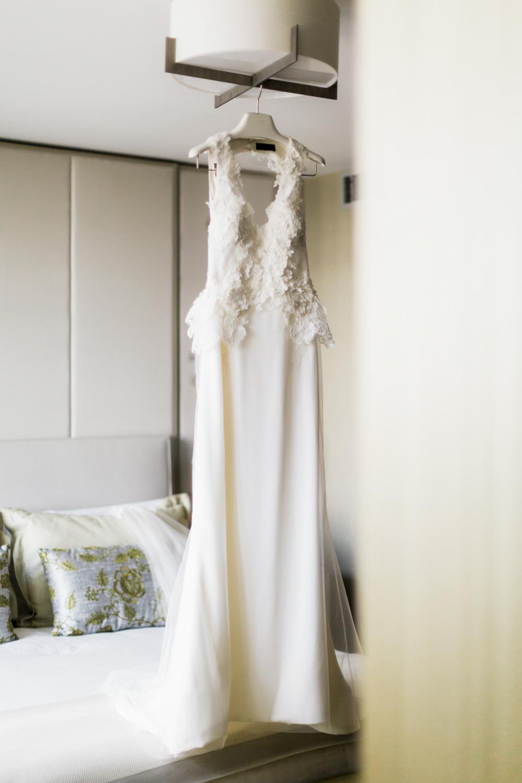 Vawk bridal gown