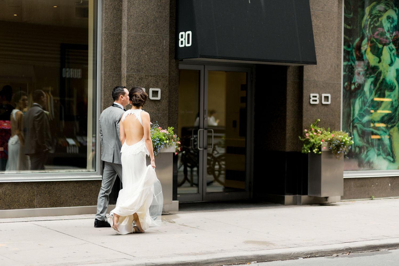 wedding in downtown toronto
