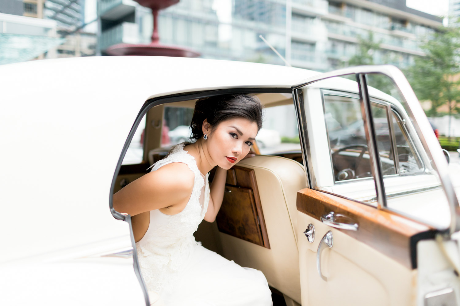 vintage limo from Trevi Livery Limousine