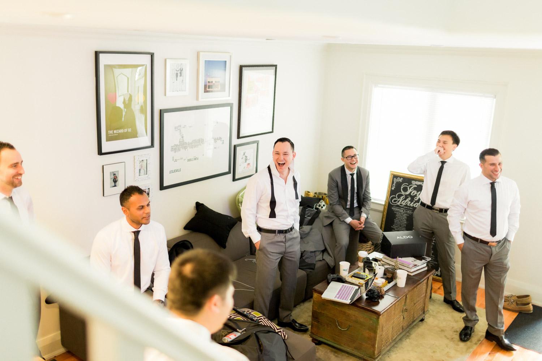wedding preparations at Four Season Hotel Toronto
