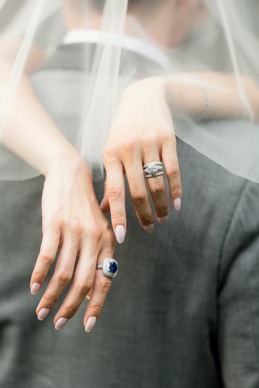 closeup of the hands and rings