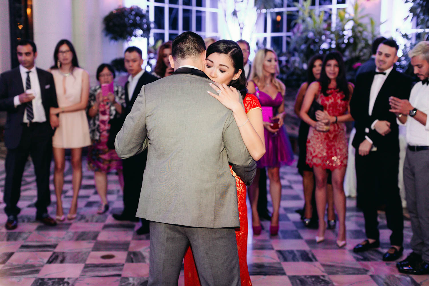 first dance in chinese deress