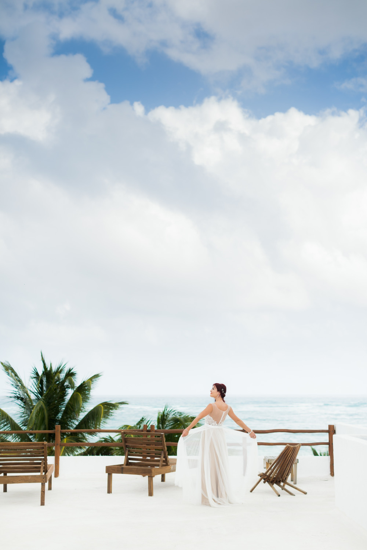beautiful Mexico wedding shot