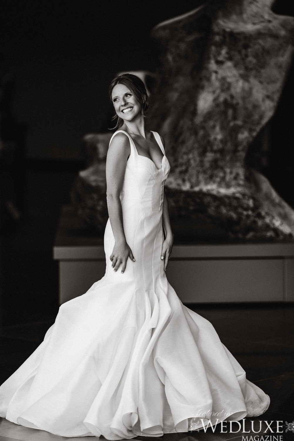 AGO bride photos Peter Lagner/ Kleinfelds wedding dress