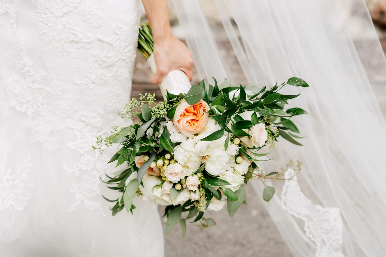 bride floral bouquet