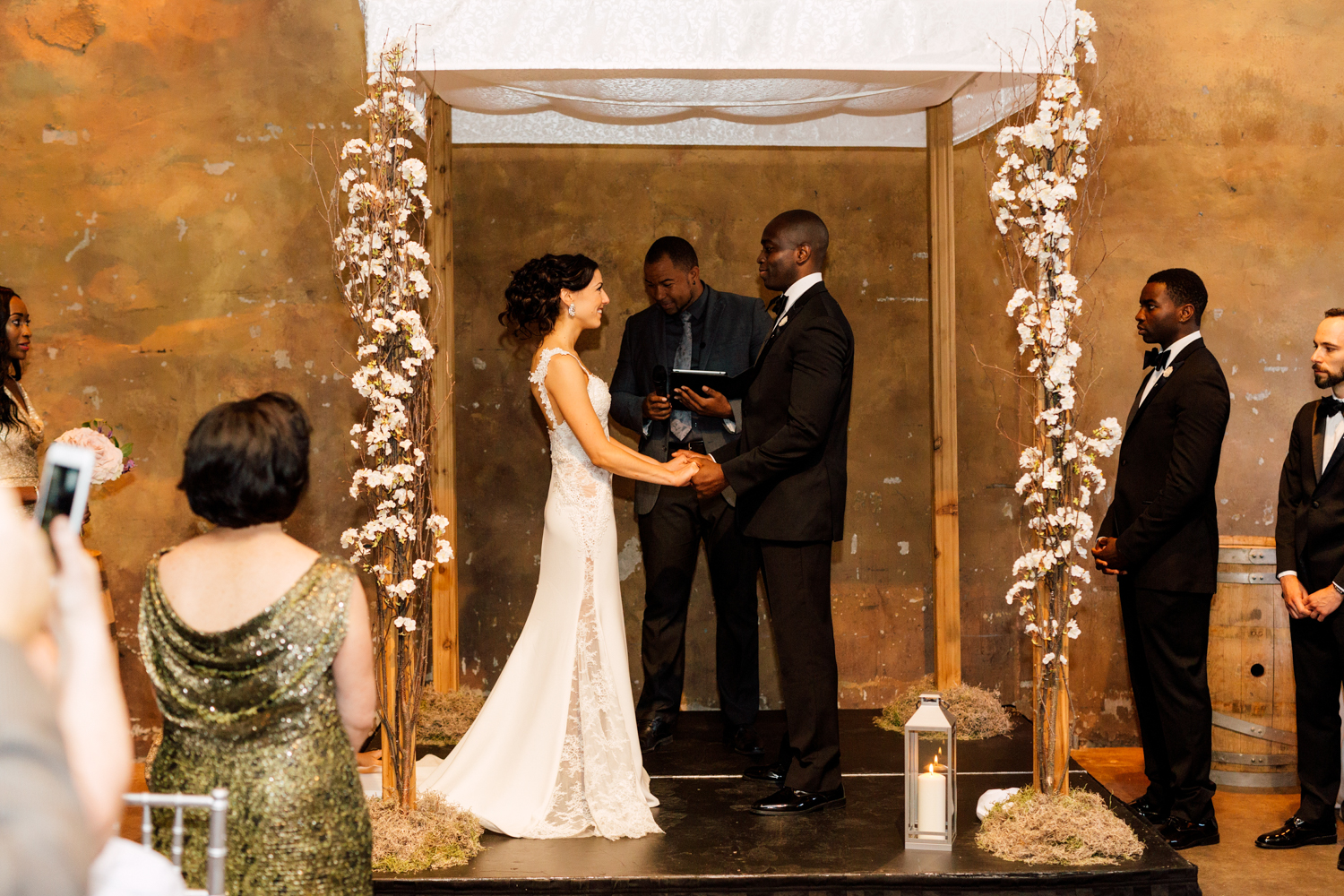 The Fermenting Cellar wedding ceremony