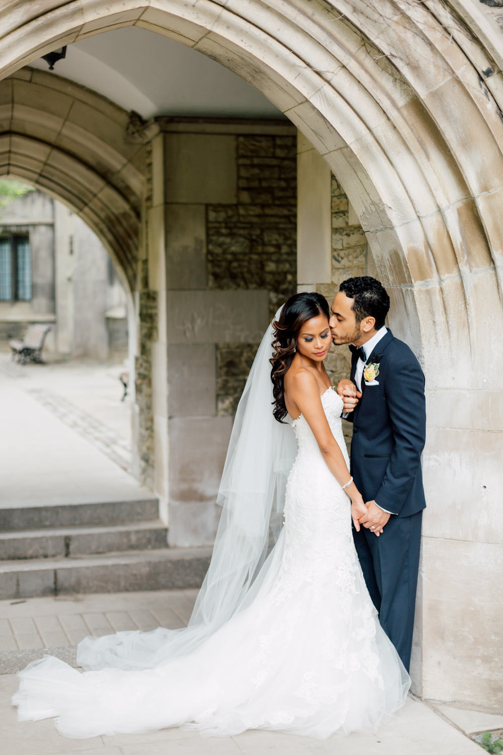 university of toronto wedding portrait