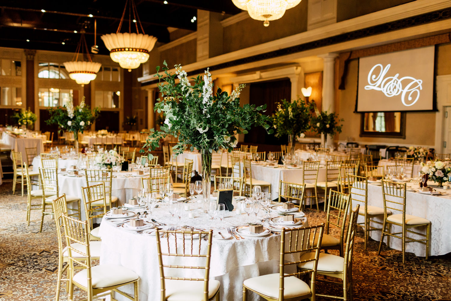 liberty grand wedding reception